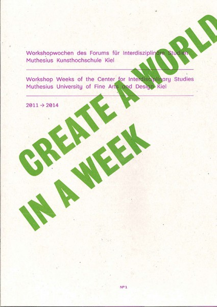 Create a World in a Week