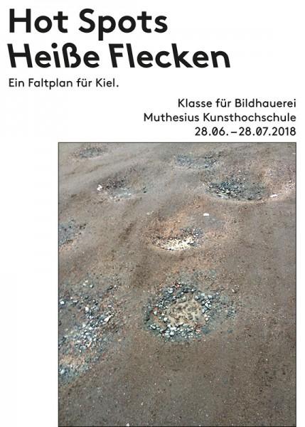 Hot Spots - Heiße Flecken. Ein Faltplan für Kiel.